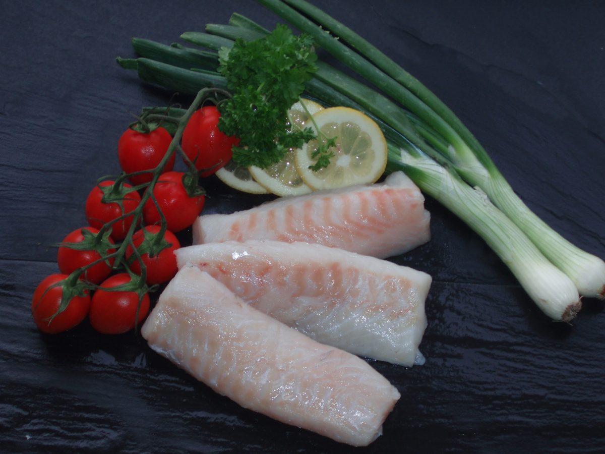Ryggfile av skrei torsk