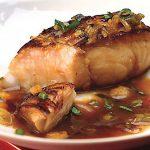 Fiskfile kokt i marinad