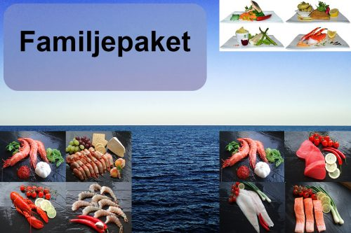 Familjepaket (Lax, Torsk, Röding, Rödspätta och Räkor)