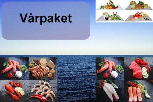 Vårpaket Laxfile Torskrygg och Röding