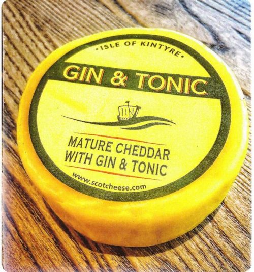 Cheddar Gin and Tonic